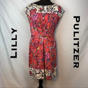 Lilly Pulitzer Dress with Matching Belt